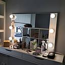 Навесное зеркало с подсветкой для визажиста, бровиста, стилиста., фото 4