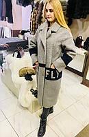 Молодежное пальто под каракуля