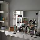Навесное зеркало с подсветкой для визажиста, бровиста, стилиста., фото 3