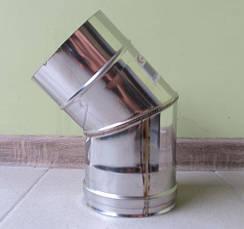 Колено 45° из нержавеющей стали AISI 304, фото 2