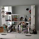 Навесное зеркало с подсветкой для визажиста, бровиста, стилиста., фото 2