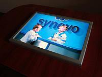 Ультратонкая световая панель фреймлайт (FrameLight), А4 формат (Вид: Двухсторонний;  Способ нанесения : Без рекламного постера;)