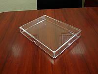 Акриловый дисплей, чехол для книжки 235x325x30 мм, фото 1