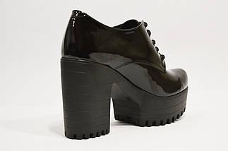 Лаковые женские ботинки Guero 3009, фото 3