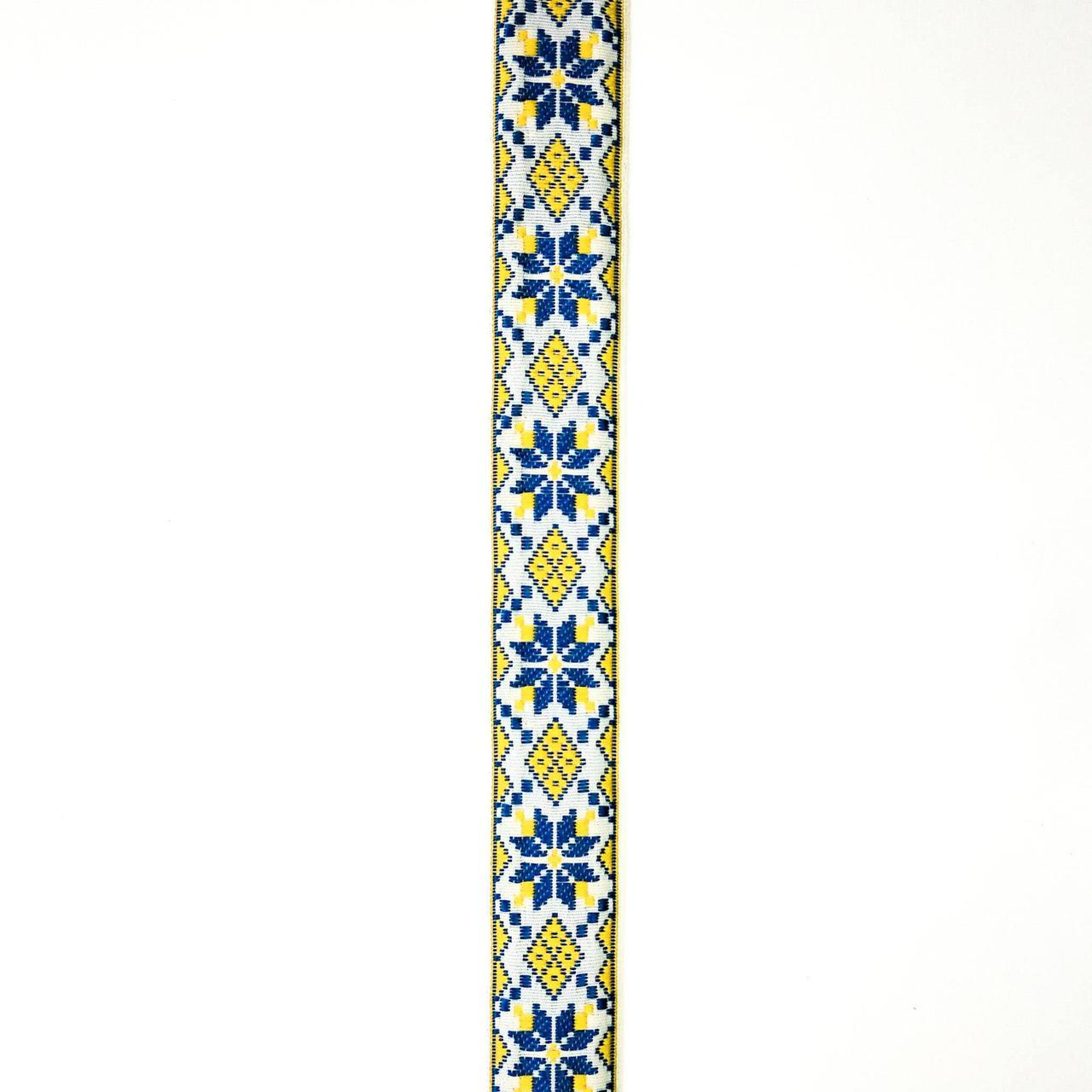 Лента отделочная с украинским орнаментом 23 мм (25м/рулон)