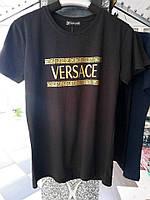Стильные брендовые мужские футболки Versace Турция оптом