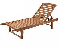 Шезлонг пляжный деревянный