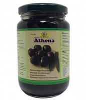 Маслины черные без косточки Athena, 350 г