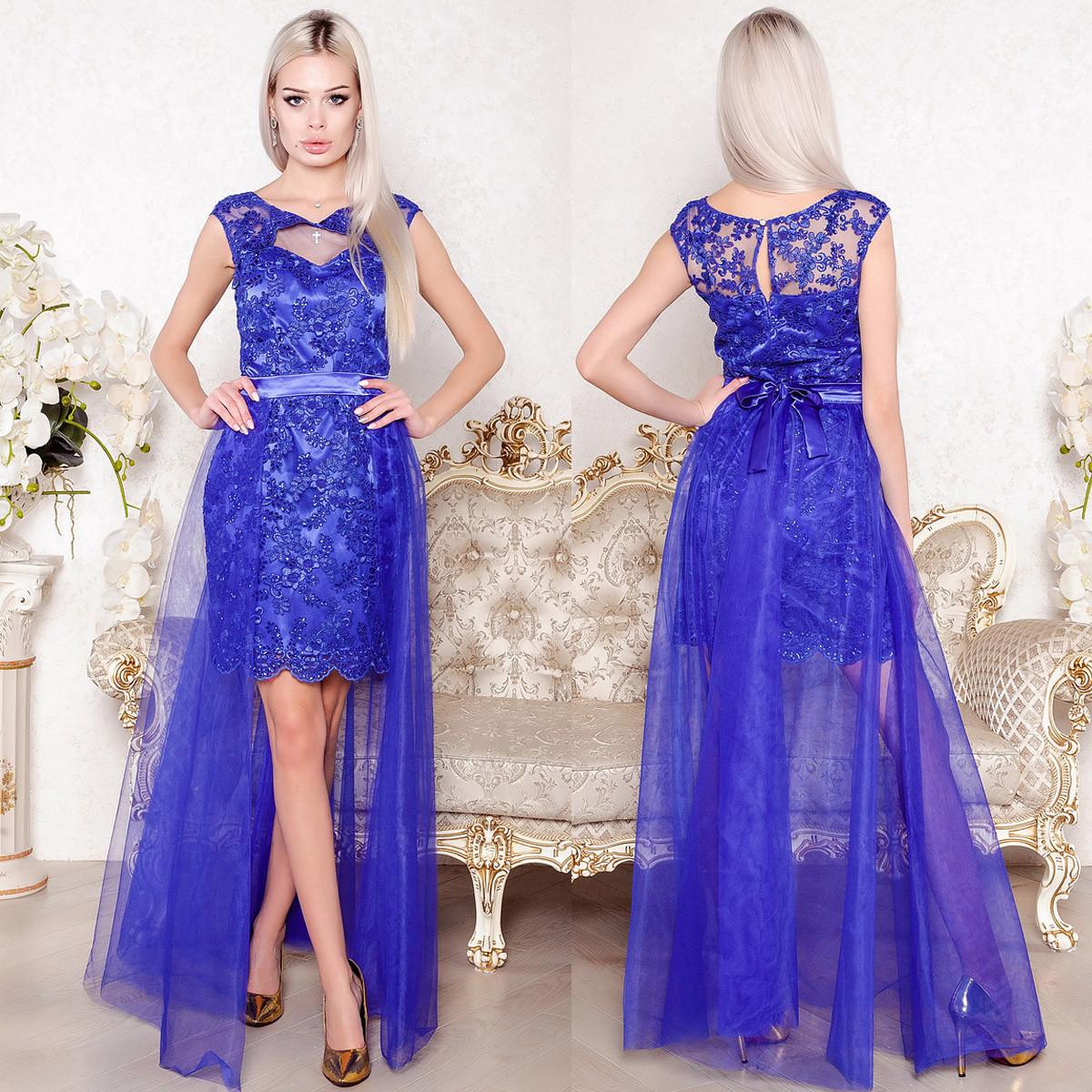 """Шикарное выпускное, вечернее платье трансформер, платье на свадьбу """"Империя люкс"""""""