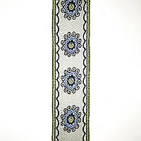 Лента отделочная с орнаментом 40 мм (25м/рулон)