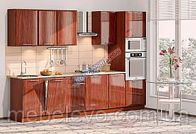Комфорт Хай-Тек кухня КХ-161 кальвадос 3.1 м