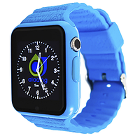 Smart watch V7K | X10 Blue GPS с камерой