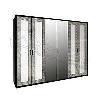 Шкаф «Виола» 6дв. с зеркалом Доставка по Украине. Гарантия качества