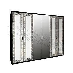 Шкаф «Виола» 6дв. с зеркалом Миро Марк.