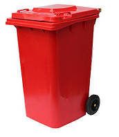 Бак для мусора 240L-red