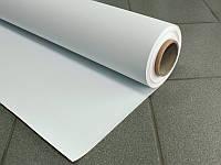 Баннерная ткань ламинированная без печати, белая