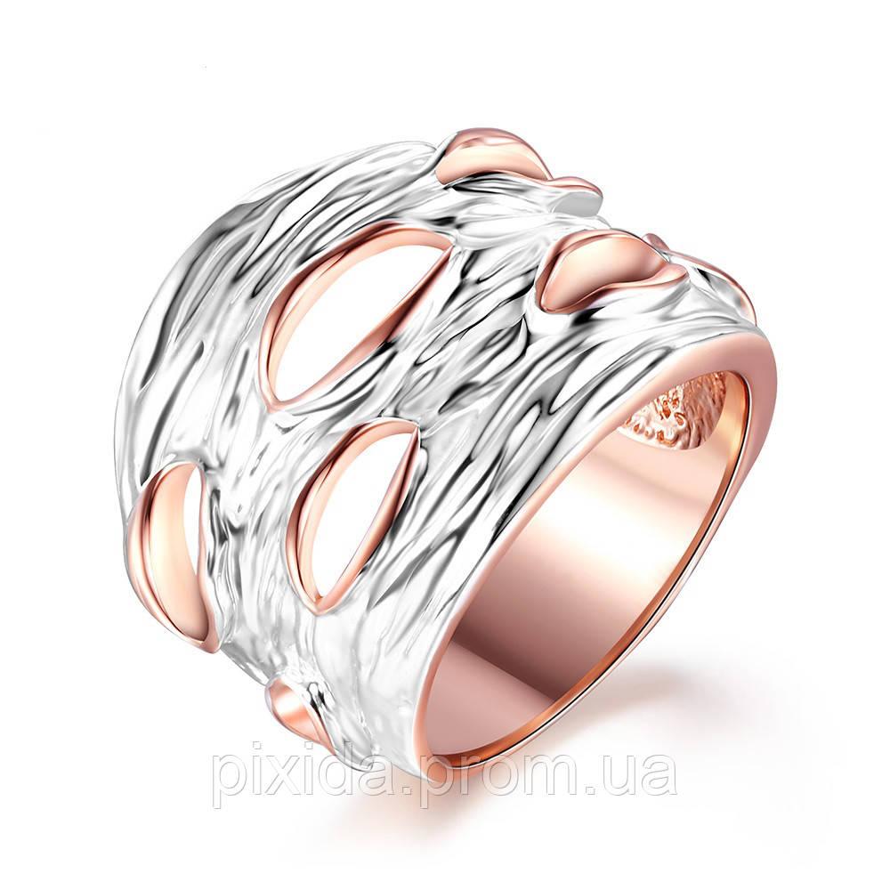 Кольцо Кора покрытие золото 18К серебро