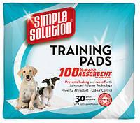 Simple Solution Training Pads, 58x61см, 10 шт - гигиенические пеленки для собак и щенков