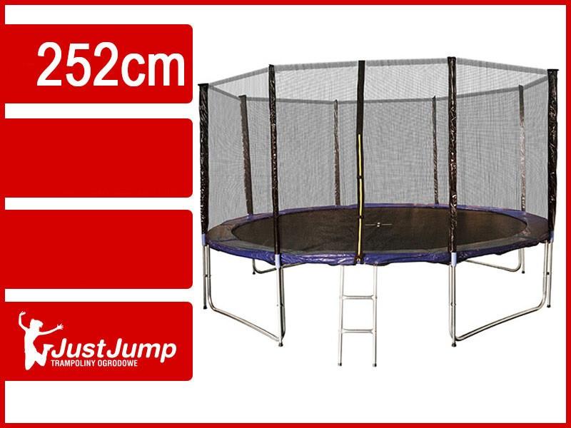 Батут Just Jump 252 см с двойными ногами