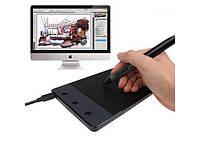 """Графический планшет с пером HUION H420 4x2.23"""" кнопки"""