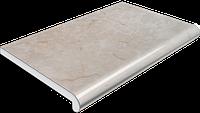 Подоконник Plastolit 300 мм, серый мрамор глянец (Пластолит)