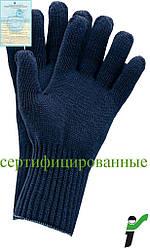 Защитные перчатки, утепленные, изготовленные из трикотажа RJ-AKWE G