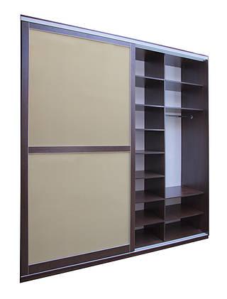 Шкаф из крашенного стекла