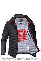 Куртка мужская демисезонная TIGER FORCE 50115 чёрная