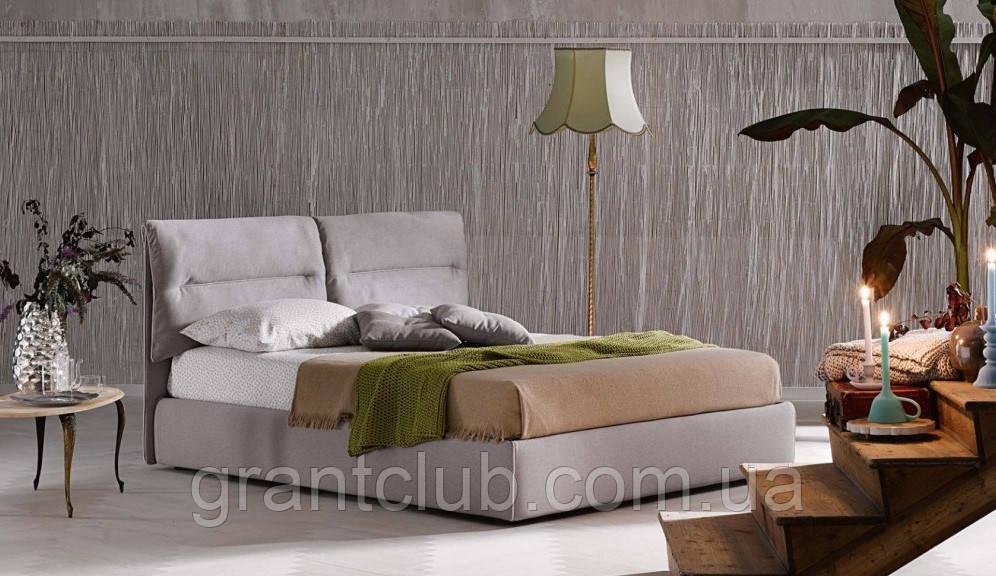 Итальянская современная кровать в ткани ACADEMY фабрика LeComfort