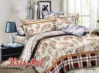 Комплект постельного белья двуспальный абстракция недорого