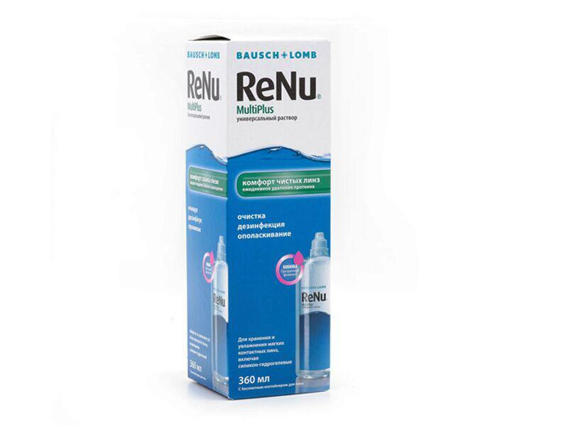 Многофункциональный раствор ReNu 360 мл.