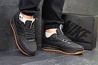 Кроссовки мужские кожаные Nike Lunar Force LF- 1,низкие,черные