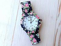 Наручний жіночий годинник Geneva Platinum Flower