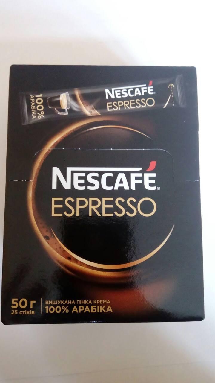Растворимый кофе Nescafe Espresso в стиках