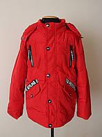 Куртка/парка для мальчика детская весна-осень 4-7 лет