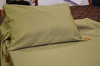 Покрывало - накидка на кровать (зелень) односпальная