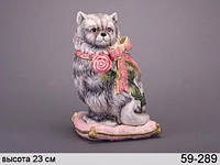 Статуэтка Кошка 23 см 59-289
