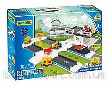 """Игровой набор Wader Kid Car 3D """"Аэропорт с дорогой""""  60*40 *15 см."""