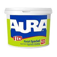 Білосніжна інтер'єрна акрилова фінішна шпаклівка Aura Fix Finish Spaсkel