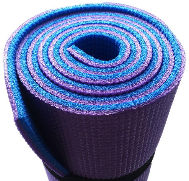 Купить коврик для йоги, фитнеса, аэробики «Premium-8»