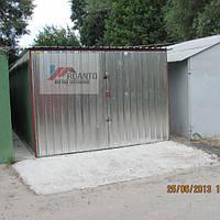 ГАРАЖИ МЕТАЛЛИЧЕСКИЕ РАЗБОРНЫЕ 3х5, цинк 0,5 мм