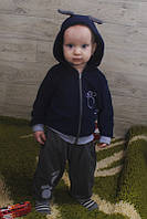 Детский теплый костюм на рост: 68-98 см