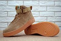 Мужские кроссовки Nike Air Force Brown 1