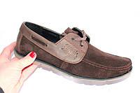 Мужские мокасины, DS01, цвет коричневый