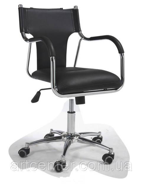 Кресло офисное с механизмом качания  (БЕРЛИН 45 черный)