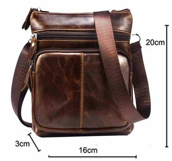 Мужская сумка, барсетка, портмоне, натуральная кожа