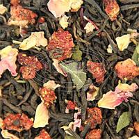 Чай Пуэр клубника 500 грамм