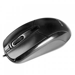 Мышь Hi-Rali wired USB, black, small box packing /HI-M8122/