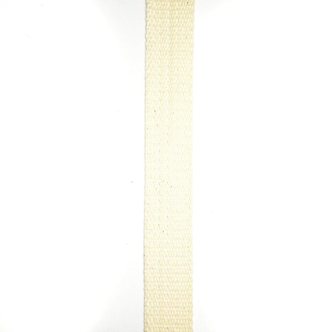 Лента фитиль суровая 23 мм (50м/рулон)
