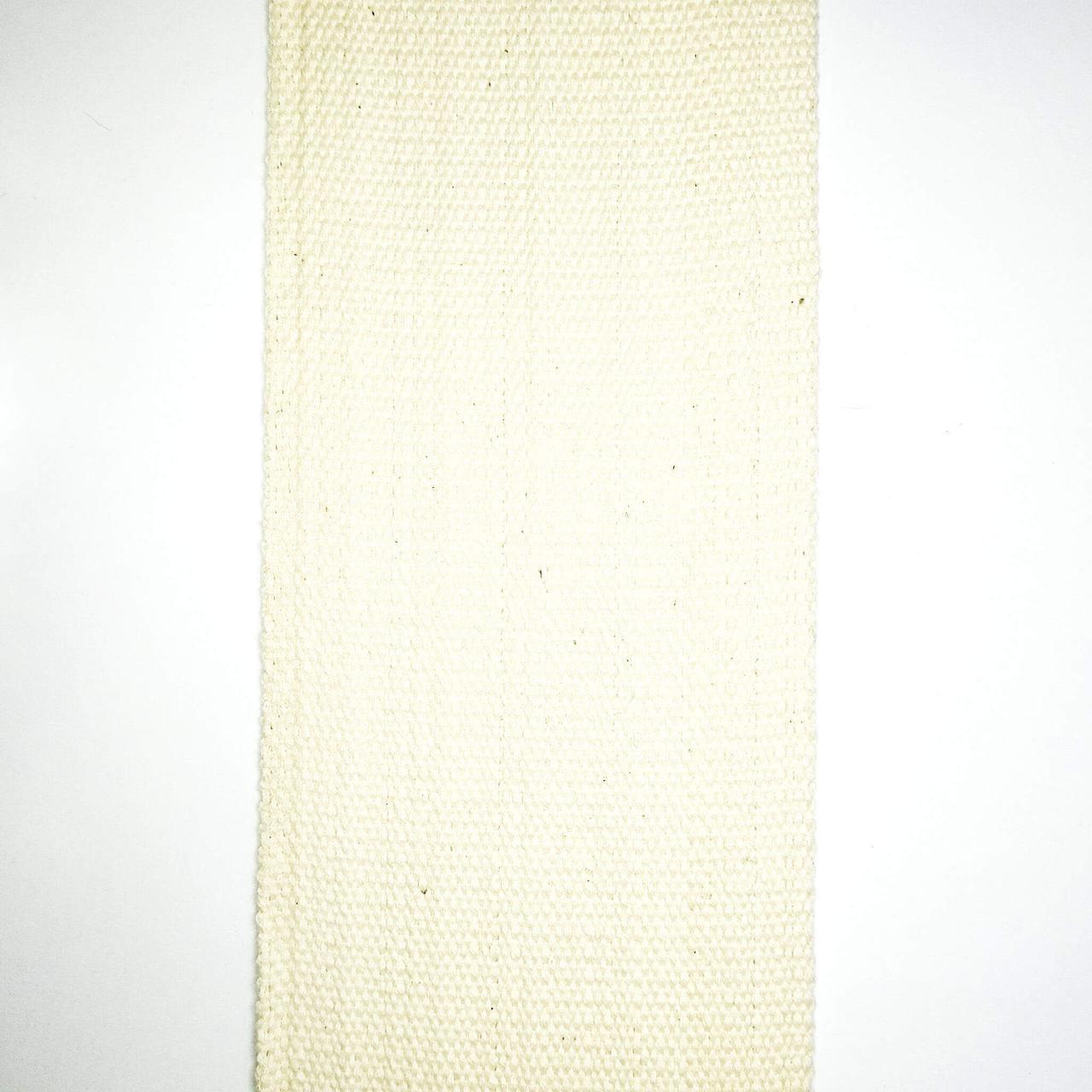 Лента фитиль суровая 80 мм (50м/рулон)